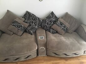 4 seater grey