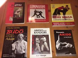 Martial arts books for sale