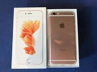 IPHONE 6S ROSE GOLD, UNLOCKED, VERY GOOD CONDITION