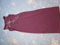 Vintage Dorothy Perkins Long Purple Dress
