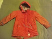 Red girls jacket with waistcoat from Next size 6 years