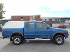 NO VAT!! Ford ranger pick up 4x4 2.5tdi in great condition, loads of history!!!
