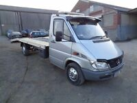 2005 MERCEDES SPRINTER 311 CDI LWB RECOVERY TRUCK BEVERTAIL 12 MONTHS M.O.T