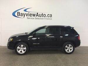 2016 Jeep COMPASS HIGH ALTITUDE- 4x4! SUNROOF! HTD LTHR! CRUISE!
