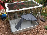 Furet Plus Rat Cage for sale! (Slight damage)
