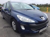 SALE! Bargain Peugeot 308 1.6 diesel, full years MOT ready to go