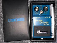 Boss BD‑2W Waza Craft Blues driver in mint condition !! Literally almost new !!