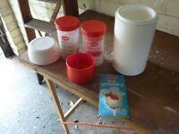 Easiyo Real Yogurt kit accessories etc