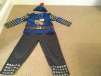 Mike the knight fancy dress outfit