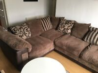 DFS Corner Sofa / Couch. Similar to Ewan or Rufus couches on DFS website