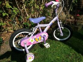 Child's bike Apollo Petal good condition age 3-6