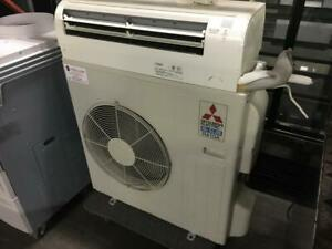 34 inch 24000 BTU Mitsubishi Slim Split AC Ductless Model R410A like new only $1450!