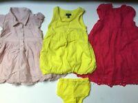 Baby Girl Bundle Summer dresses, 6/12 months £10 Ref. 0087