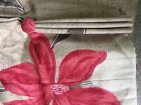 A pair of gorgeous Harlequin fabric curtains
