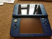 Nintendo 3ds Xl metallic blue