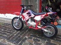 pit bike 110cc 4speed semi auto