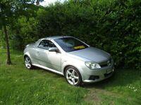 Vauxhall Tigra Exclusiv 16v (aluminium silver) 2006