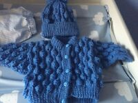 3x Knitted sets