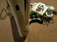 Xbox 360 60gb games and accessories
