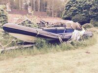 5-7metre Rib boat wanted