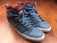 Adidas high tops - size 10