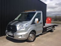 2015 Ford Transit Recovery Truck LWB 6 Speed Just Built, Sport Stripes, 16ft Aluminium Bed. May PX
