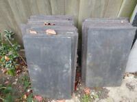 Reclaimed roof slates from Victorian house (Countess and Wide Countess sizes)