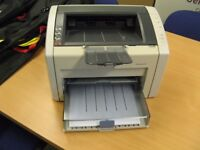 HP Laserjet 1022N Network or USB Black and White Printer with new Cartridge