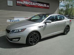 2013 Kia Optima EX-NAVIGATION-LEATHER-SUNROOF-HEATED LEATHER!!!