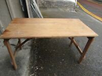 Wooden Tressle Table