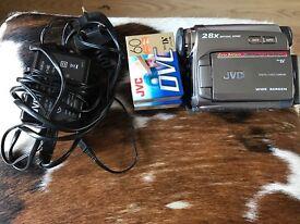 JVC handycam vision video