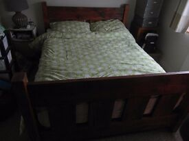 Reclaimed Timber Handmade Double Bed by Rustic Roots
