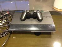 PS3 Super Slim + 6 games