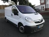 Vauxhall Vivaro 2.0 6 speed lwb