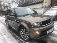LAND ROVER RANGE ROVER SPORT 3.0 DIESEL LUXURY PACK LIMITED EDITION FULL LAND ROVER HISTORY 1 OWNER