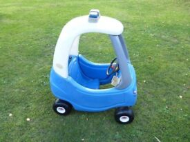 Police Cozy Coupe Car