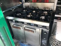 GAS COOKER OVEN CATERING COMMERCIAL KITCHEN EQUIPMENT FAST FOOD RESTAURANT CAFE KEBAB CHICKEN BBQ