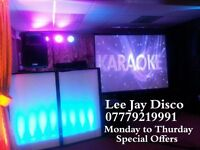Mobile Disco & Karaoke Monday to Thursday Special Offers