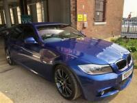 BMW 3 SERIES 318D M SPORT (blue) 2010