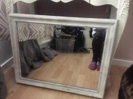 White mirror - for upcycling