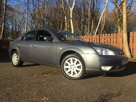 Ford Mondeo Ghia X Long Mot Low Miles Massive Spec Full Heated Leather Interior Parking Sensors Etc