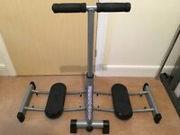 Leg Magic Home Gym Exercise Machine + Instructions & DVD
