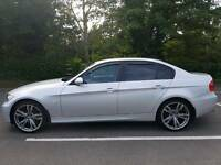 STUNNING BMW 3 SERIES FULL BLACK LEATHER FULL SERVICE HISTORY HIGH SPEC IMMACULATE
