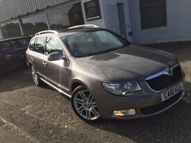 *NOW SOLD* 2010 Skoda Superb Touring 2.0 TDI Elegance DSG-1 Years MOT-FSH