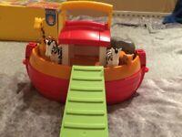 Playmobil Noah Ark with Animals and Mr Noah