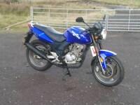 2015 sinnis stealth 125 learner legal motorbike