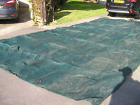 SWIMMING POOL COVER 25ft x 13ft