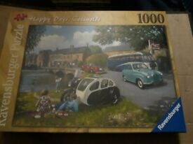 Jigsaw puzzles 2 new unopened 1000 peace's