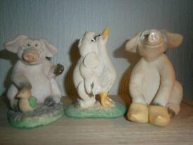David Corbridge Hand Made Piggin' Collectibles - 10 Large - £8 each