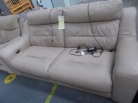Recliner Leather sofa 34727A